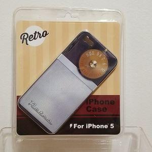 Retro iphone 5 case